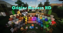 Origins Modern HD Minecraft Texture Pack