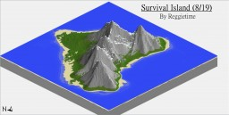 A Survival Island (8/19) Minecraft Map & Project