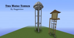 Two Water Towers Minecraft Project