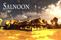 Salnoon - Beyond The Horizon Minecraft Map & Project