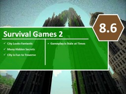 [C's] Minecraft Map Reviews - Survival Games 2