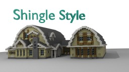 Shingle Style House |TBS| Minecraft Map & Project