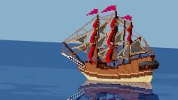U.S.S Continental Drift Minecraft Project