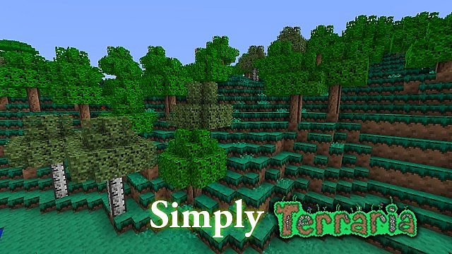 Simply Terraria Minecraft Texture Pack