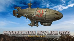 Skyline- Take The Helm! (Build And Fly Your Own Airships!) [1.7.10] [FORGE] Minecraft