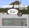 SHARP DESIGN [MC1.7.10] The Original Noiseless-Default Resource Pack!