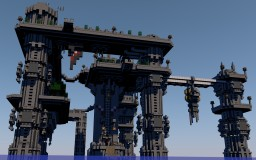 Empire - Technomancer Fortress Minecraft