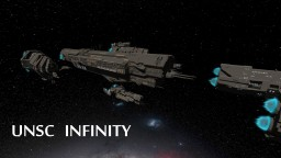 (HALO 4) UNSC - INFINITY Minecraft Map & Project