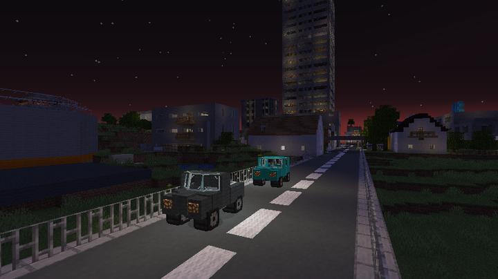 working headlights