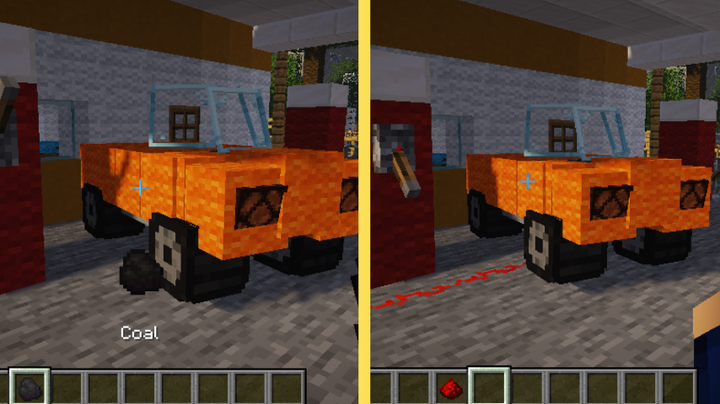 Refuel the cars with coal or charge them with redstone
