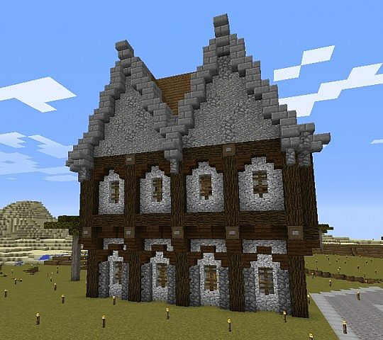 Another Medieval House 1 8 Version Minecraft Map