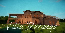 Villa Durango - Fully Furnished Italian Villa Minecraft Map & Project