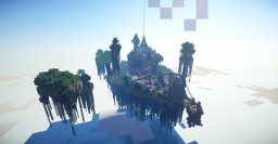 Floating Island Spawn - by iExplode Minecraft
