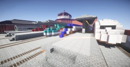 Train Station Minecraft
