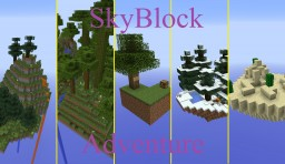 Andventure Skyblock (ver 2) Minecraft Map & Project