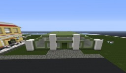 Little Modern Minimalistic Car showroom Minecraft Map & Project