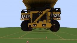 Caterpillar 797B Dumper Minecraft Map & Project