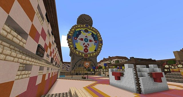 Clock Town Majora S Mask Minecraft Project