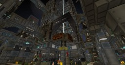 Cyberpunk City Slums Minecraft