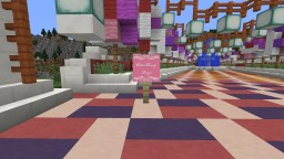 Cotton Candy Bridge Minecraft Map & Project