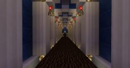 Hallway trap in Minecraft