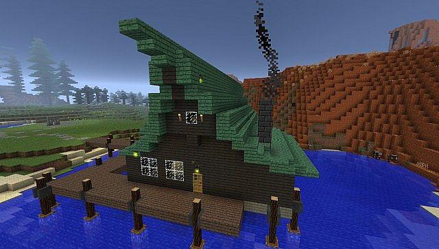 Hexenhaus Witchhouse Minecraft Project - Minecraft hexenhauser