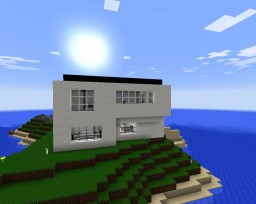 Modern Private Island Getaway Minecraft Map & Project