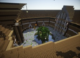A little Quake Arena Minecraft Map & Project