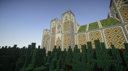 Cathedral-Yellow Flower Minecraft Project