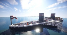 ►Paddle Steamer◄ (Rhine) Minecraft Map & Project