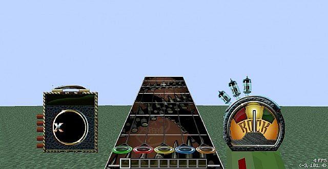 Guitar Hero Cam Pumpkin Head