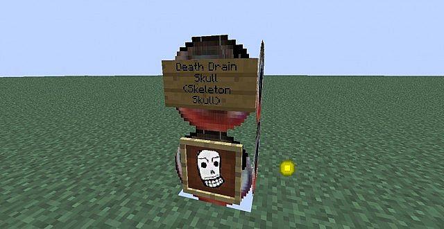 Death Drain Skull Skeleton Skull