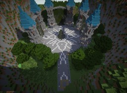 Hub With Three Portals Minecraft Map & Project