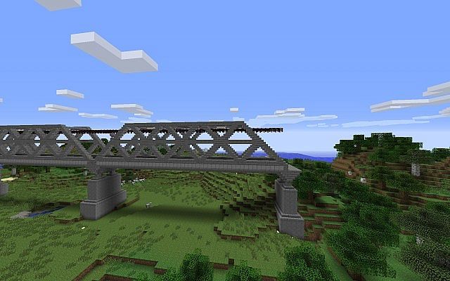 Railroad Bridge Minecraft Project