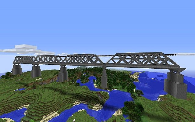 Railroad Bridge Minecraft Project