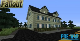 Fallout: Pre-War House Minecraft Map & Project