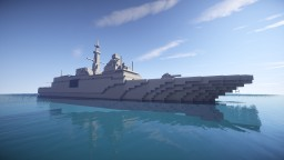 Aquitaine-class Frigate [1:1 scale] Minecraft Map & Project