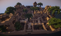 Desert Town / Gamelobby [+Download] Minecraft Map & Project