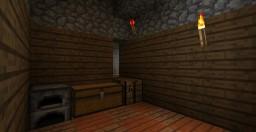 Secret corner door (redstone torch key) tutorial