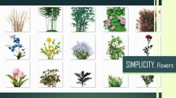 [1.7.10] Simplicity Beta 1.2 Flowers!