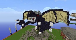 Obsidian Dragon Minecraft Map & Project