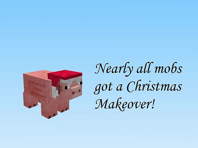 allmobs8064869 [1.9.4/1.8.9] [16x] Christmas Overhaul Texture Pack Download