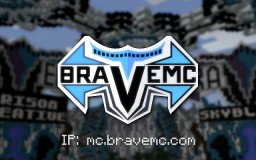 ✦ BraveMC ✦ CREATIVE - FACTIONS - SKYBLOCK - AND MORE! Minecraft Server