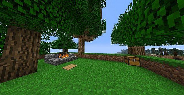 A little campfire