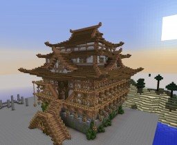 Chinese Castle Minecraft