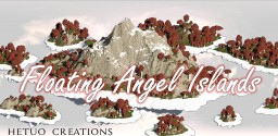 The Floating Angel Islands Minecraft Project