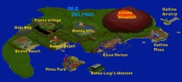 Delfino Island (Super Mario Sunshine) Minecraft Project
