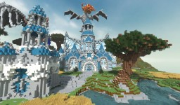 A recollection of Anguish: Medieval Fantasy Castle Minecraft Project