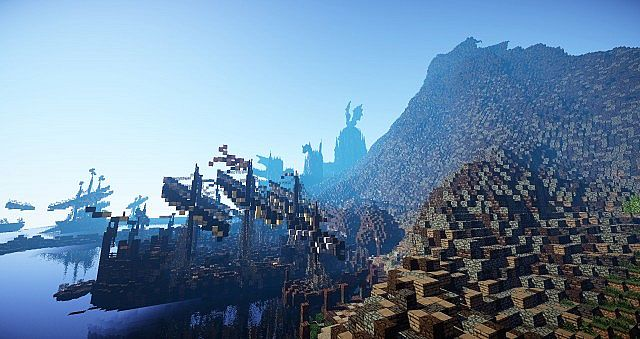 The docks and village at Dragonstone