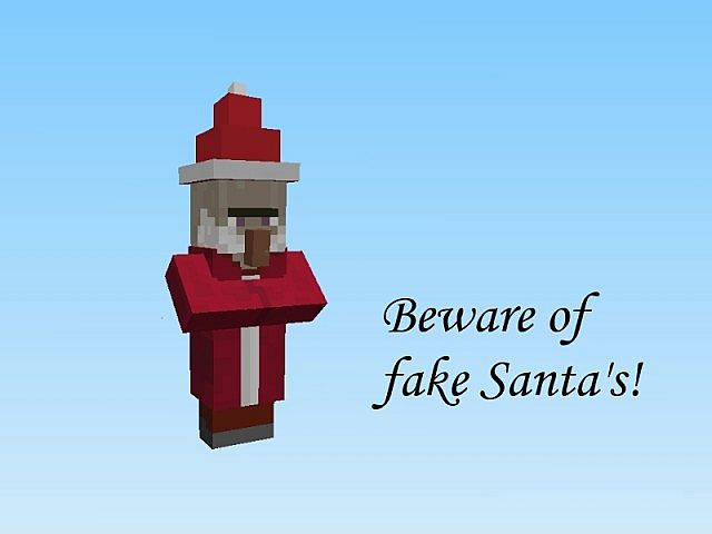 fakesantas8064875 [1.9.4/1.8.9] [16x] Christmas Overhaul Texture Pack Download